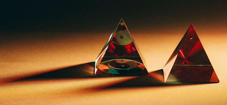 Triangoli di vetro